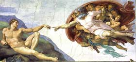 Michelangelo Paintings: The Creation of Adam
