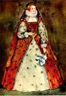 Elizabethan Womenu0027s Clothing Elizabethan Womenu0027s Costume & Clothing of the Elizabethan Era