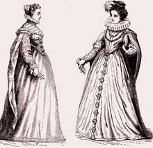 Renaissance Fashion - Court of Catherine 