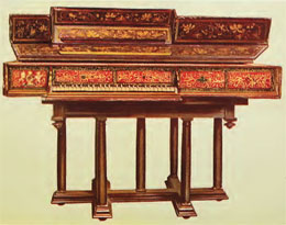 Renaissance Keyboard Instrument